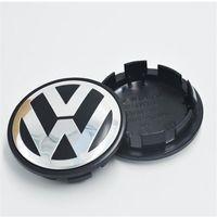 65mm VW Tekerlek Merkezi Caps Rozeti Sticker için Araba VW Yeni Toptan