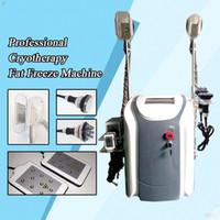 Cryolipolysis+RF+Cavitation +Lipo Laser Slimming Machine Cold Body Sculpting Cryolipolysis Fat Freeze Slimming Machine for Salon