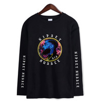 Nipsey hussle t-shirts frauen und mann kühlen t-shir t 2019 neue mode lässig langarm t-shirt tops für frühling xxs-4xl plus größe