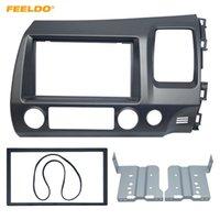Kit For Honda Civic (RHD) takılması FEELDO Araba DVD / CD Radyo Stereo Alınlık Paneli Çerçeve Adaptörü # 4401