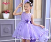 2019 girl princess dress for vest marriage gauze children ma...