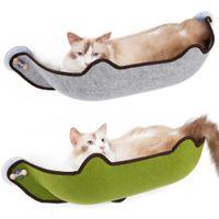 Lindas camas colgantes Sunny Asiento Cat Pet Pet Ventana Hamaca Cómoda Four Seasons Universal para Cats Y200330