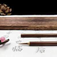 Yuechen Xuan Belas Brushwork Pintura tradicional chinesa mouse Beard Pen Lobo Hao gancho Linha Pen Pedra Badger cabelo Pen Lobo Ovinos e Hao Yi