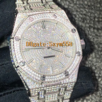 15400 Diamond Watch Man Watch High Quality Iced Out Watch Au...