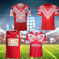 2020 20 tongas19 2019 super maillot ligue de rugby TONGA Nationl LIGUE maillot domicile Maillot de rugby Maillots