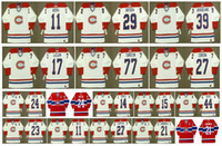 Vintage Montreal Canadiens Jersey 11 Saku Koivu 29 Ken Dryden 15 Bobby Smith 17 John Leclair 77 Ierre Turgon 27 Shayne Corson Retro Hockey