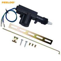 Sistema de bloqueio central de 2 fios de arame Motor de atuador de arma único com kits de metal de montagem # 4662