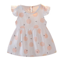 Toddler Baby Girls Fly Sleeve Animal Print Dress Outfits Set...
