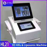 높은 강도를 노화 2 1 Liposonix 슬리밍 Weitht 3D HIFU 얼굴 리프팅 안티 HIFU 기계 체결 초음파 바디 리프트 스킨을 집중
