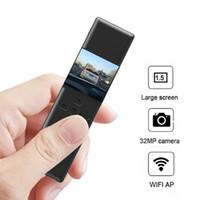 Großhandels10pcs 32MP WIFI-Kamera-HD 1296P Auto Fahren DVR Video Recorder Polizei-Sicherheits-Nocken 170 Grad IR-Nachtsicht Mini-Camcorder