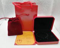 새로운 패션 팔찌 상자 가방 포장 보석 붉은 색 상자 보석 상자 포장 선택 도착