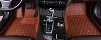 Custom Made Araba Paspaslar Mercedes W204 için Tüm Modeller W205 CLA AMG W212 W245 GLK GLA GLE GL X164 Vito Deri Araba Paspaslar Aksesuarları