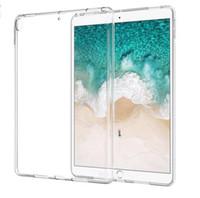Custodia in silicone 2018 per iPad Pro 11 pollici 12,9 9.7 Custodia trasparente trasparente Custodia morbida per tablet posteriore in TPU per iPad 2 3 4 5 6 Air 1 Mini