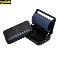 직접 110MM 킹 사이즈 롤 용지 자동 금속 담배 롤 기계 만들기 담배 수를 사용하여 롤링 종이에 롤 트레이