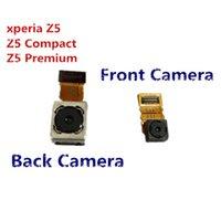 Teste passou por Sony Xperia Z5 E6603 E6633 E6653 E6683 Z5 Compact mini-premium volta Big Camera traseira virada câmera frontal Flex Cable