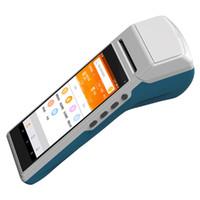 Портативный сканер термопринтер бумаги 5.5inch Дисплей Система Android Smart КПК