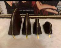 4pcs / set Frauen kosmetische Beutel berühmte Make-up Tasche Designer Reisetasche Tasche Damen bilden cluch Geldbeutel organizador Necessaire DHL