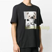 2021 New Summer Luxury Herren Hundekopf Print T-shirt Mode Cartoon Druck Tshirt Top Männer Damen Designer T-shirt Casual Cotton T-Stück Top