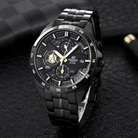 EFR-556 Luxury watch mans 316L steel band sports watch 43.5mm Designer Japanese OS quartz Movement men Watch