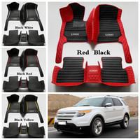Özel Araba Paspaslar Ford F-150 Everest Kenar Odak Mondeo, Fiesta Mustang S-max Explorer Ecosport C-max Tourneo Ayak pedleri için uygun