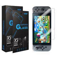 닌텐도 스위치 레트로 라이트 미니 NS NX 3DS 새로운 2DS XL 2.5D 9H 게임 강화 유리 화면 보호기에 대한