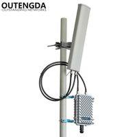 Длинный диапазон 400meters Открытый WiFi Точка доступа Удлинитель 2,4 ГГц 300 МБ-беспроводной маршрутизатор открытый AP WiFi Базовая станция Hotspot с 14DBI Ant