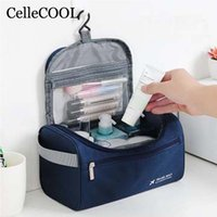 Travel cosmetic bag cosmetic storage bag men' s waterpro...