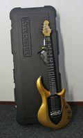 Personalizado Ernie Ball Music Man John Petrucci Majestad Mina de oro (Centro Negro) Guitarra eléctrica Puente Tremolo, Caja de batería activas de 9V