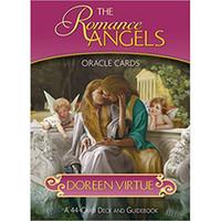 O romance Anjos cartões de Oracle Inglês Versão Cartas de Tarô