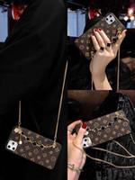 Diseñador de lujo Alhambra pulsera caja del teléfono para iPhone 11 Pro XS MAX XR X 7 8 Plus