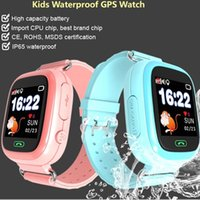 Étanche Q90 GPS Enfants Montre Smart Watch Wifi GPS LBS Anti-perdu Smartwatch Bébé SOS Tracker 2G Montre Smart Watch Cadeaux PK Q50 Horloge
