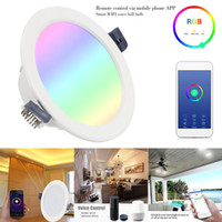 AC85- 265V 7W Downlights WiFi Smart Light Dimmable Multicolor...
