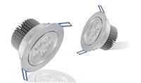 Светодиодный потолочный светильник 5X3W Высокое качество с регулируемой яркостью 110 В 220 В Без регулируемой яркости 15 Вт 85-265 В Светодиодный потолочный светильник Внутреннее освещение LLFA