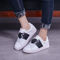 2019 New Men' s Women' s Genuine Leather High Top Fa...