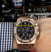 New Date Oak 41mm 26320OR Black Dial Miyota Quartz Chronogrp...