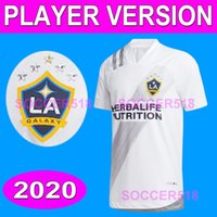 La Galaxy 2020 2021 Chicharito Player الإصدار Sergio Ramos Rashford كرة القدم قمصان Beckham Vela H. Lozano Version Soccer Jerseys