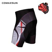 COMAXSUN Мужские шорты Велоспорт 3D проложенный велосипед / велосипед Спорта на открытом воздухе Tight S-3XL 10 Стиль