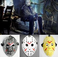 Halloween Jason Maske Cosplay Kostüme Full Face Killer Masken Jason vs Freitag Horror Hockey Kostüm Scary Mask Vintage Retro Kinder Erwachsenen Prop