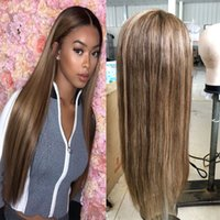 Highlight Brazilian Virgin Full Lace Human Hair Wigs For Bla...