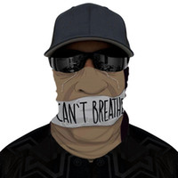 أنا لا يمكن التنفس واقية من الشمس قبعة وشاح الصيف في الهواء الطلق ركوب ماجيك قناع اسود حياة المسألة وجه حزب مكافحة الغبار أقنعة مصمم RRA3217