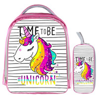 13 Inch Unicorn Backpack Rainbow Horse Backpack Kids School ...