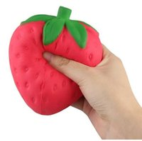 Squishy Strawberry дешево Sloweze Sloweze Телефон Ремешок Шарм Подвеска Сквош Моделирование мягкий Аромат