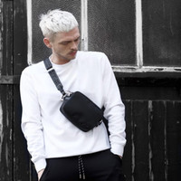 fannypack 허리 가방 남자 미니 가슴 가방 엉덩이 팩 디자이너 가방 여성의 작은 가방 블랙 벨트 높은 품질