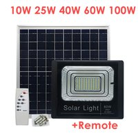 Umlight1688 10W 25W 40W 60W 100W Solar Powered Panel Led Flo...