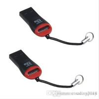 XH универсальный черный USB 2.0 Micro SD TF флэш-карты памяти читатель мини-адаптер для ПК портативный компьютер