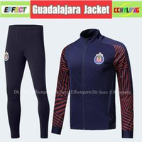 6145a8da792 Survetement New Chivas de Guadalajara Jacket Set Jerseys 2018 Club America  UNAM 2019 A.PULIDO Football Shirts Training Suit Uniforms
