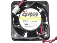 Y.S.TECH 40x40x15mm FD124015LB 4 centimetri ventilatore 12V 0.08A 2Wire proiettore