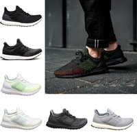 more photos 9a17d e89aa Ultraboost Clima 3.0 4.0 Zapatos casuales Core Triple Negro Blanco Ultra  Boosts Runner Hombres Mujeres Entrenadores