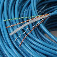 50M UTP كابل الشبكة RJ45 CAT6A صندوق خط أسلاك النحاس الملتوية زوج الحاسوب لان للهندسة جيجابت إيثرنت الجديدة