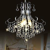 Moderno led lustre lampadario di cristallo di illuminazione per sala da pranzo soggiorno candela cromato lampadari a soffitto lampada luce interna
